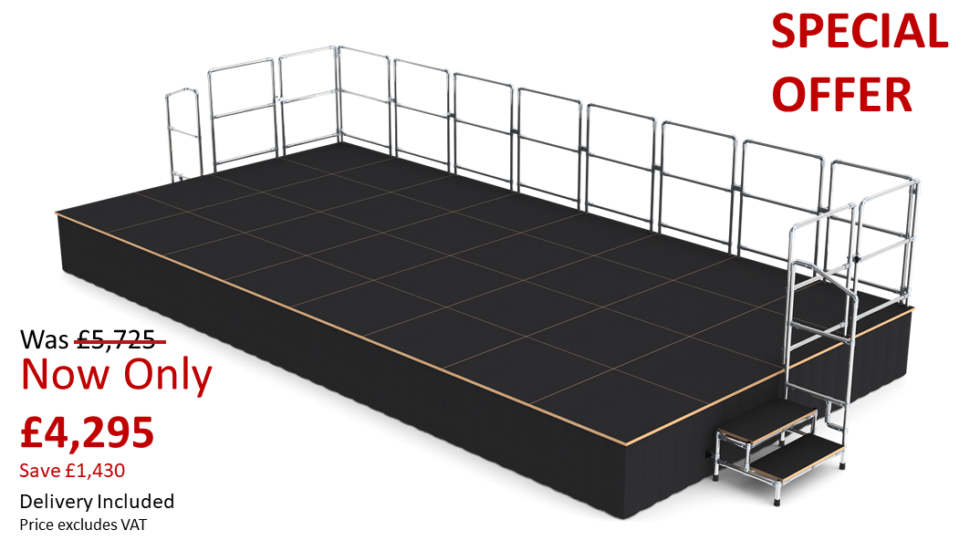 modular stage systems special offer