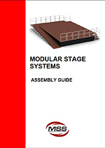 how to assemble the modular stage system
